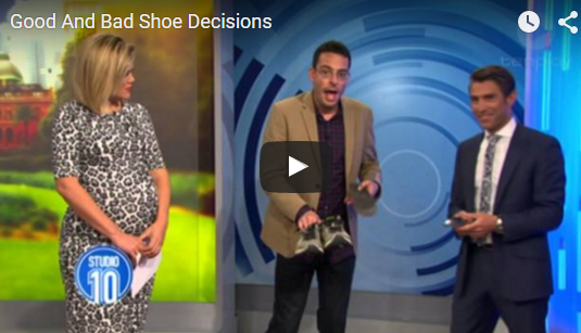 Studio 10 Features Karl Lockett Good and Bad Shoe Decisions